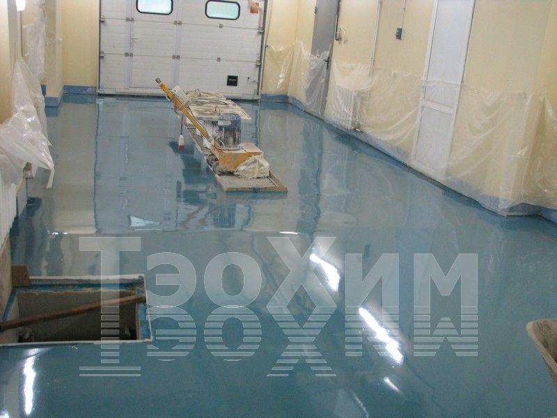 наливные полы / быстротвердеющий 5-80мм